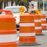 Construction cones picture