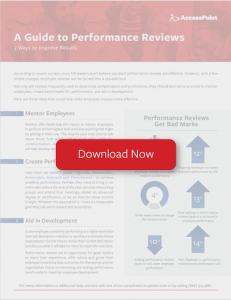 A Guide to Performance Reviews