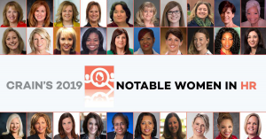 Crain's 2019 Notable Women in HR